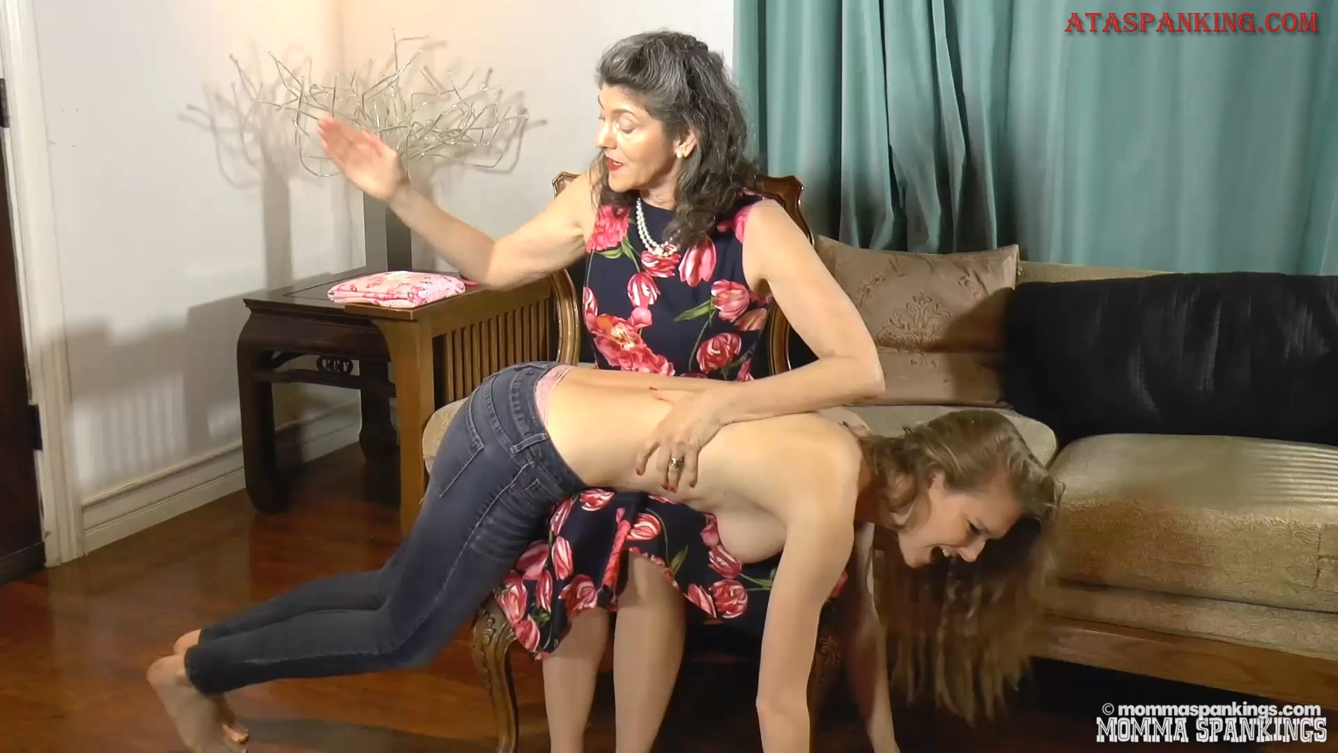 Naked Spanked and Diapered – Mommaspankings