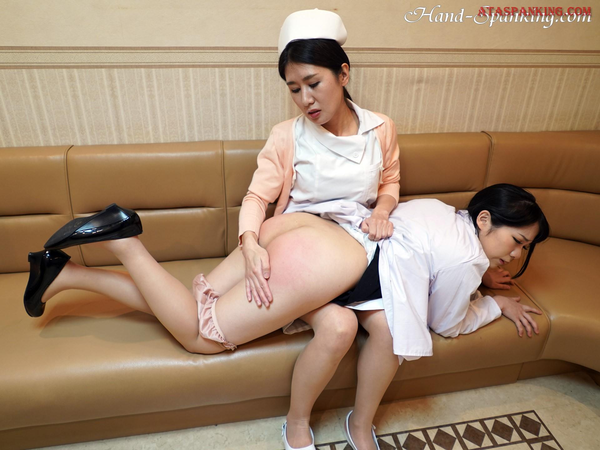 Doctor spanked