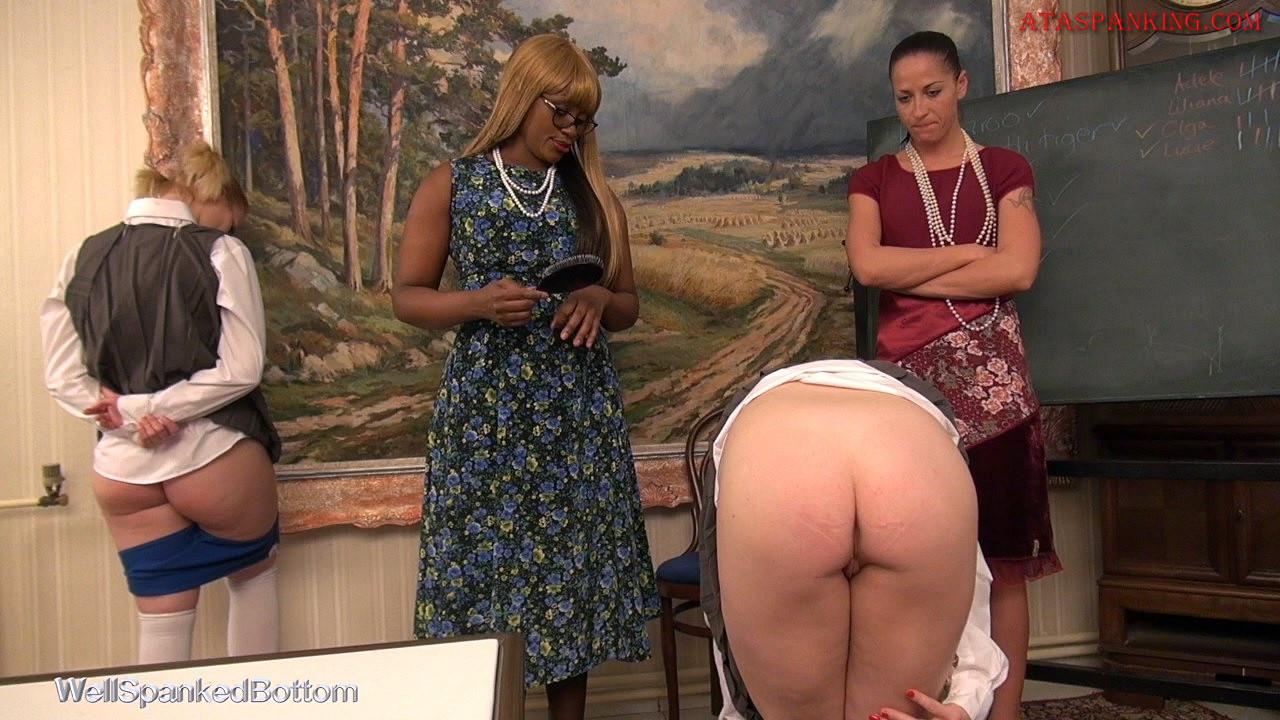 European spanked women porn archive