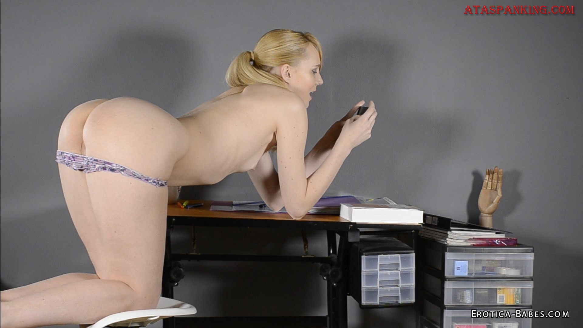 Ruler spanks a pussy quality porn