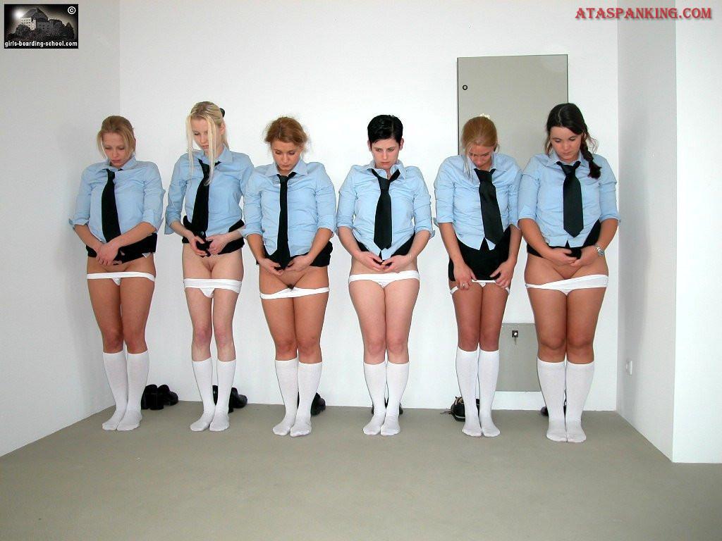 Girls boarding schools spanking